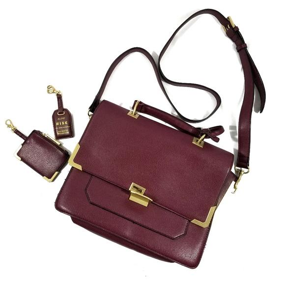 cca13ccc30b Aldo Handbags - Aldo x Ostwald Helgason Lily Bordeaux Bag